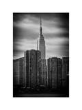 Cityscape Empire State Building Photographic Print by Philippe Hugonnard