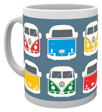 VW - Colours Illustration Mug Taza