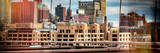 Panoramic Cityscape - Instants of NY Series Photographic Print by Philippe Hugonnard