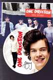 One Direction - Harry Vinyl Sticker Klistermærker