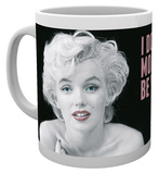 Marilyn Monroe - Quote Mug Taza