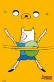 Adventure Time - Bro Hug Plakater