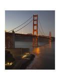 Golden Gate Bridge North View 5 Photographic Print by Henri Silberman