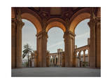 Palace of Fine Arts with Man San Francico Photographic Print by Henri Silberman