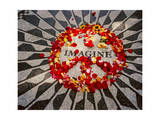 """Imagine"" Memorial Central Park Reproduction photographique par Henri Silberman"