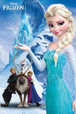 アナと雪の女王 - 山 高品質プリント