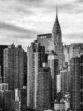 Cityscape Manhattan and the Chrysler Building Photographic Print by Philippe Hugonnard