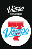 The Vamps - Logo Vinyl Sticker Pegatina