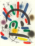 Litografia original II Collectable Print by Joan Miró