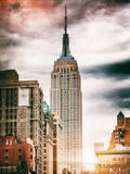 Instants of NY Series - the Empire State Building Photographic Print by Philippe Hugonnard