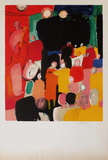 Le bal Collectable Print by Paul Guiramand