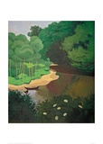 The Dordogne near Carennac Giclee Print by Félix Vallotton