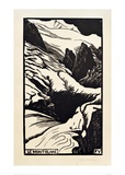 The Mont Blanc Giclee Print by Félix Vallotton