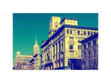 Urban Landscape with the Empire State Building Photographic Print by Philippe Hugonnard