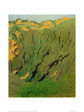 Rock Face Near Bex Giclee Print by Félix Vallotton