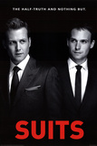 Suits - One Sheet Print
