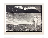The Beautiful Evening Giclee Print by Félix Vallotton