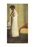 Woman Removing her Petticoat Giclee Print by Félix Vallotton