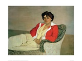 The Red Jacket Giclee Print by Félix Vallotton