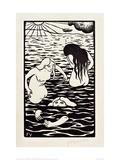 The Three Bathers Giclée-Druck von Félix Vallotton
