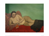 Female Nude Reclining Giclee Print by Félix Vallotton