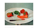 Red Peppers Giclee Print by Félix Vallotton