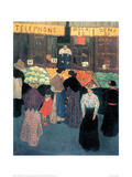 At the Market Giclee Print by Félix Vallotton