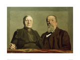 Portait of the Artist's Parents, 1902 Giclee Print by Félix Vallotton