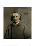 Decorative Portrait of Baudelaire Giclee Print by Félix Vallotton