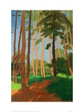 The Forest Clearing Lámina giclée por Félix Vallotton
