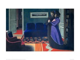 The Visit Giclee Print by Félix Vallotton