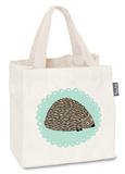 Mr Hedgehog - Mini Tote Bag Tragetasche