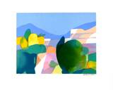 Paysage Collectable Print by Alfred Defossez