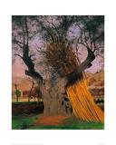 The Old Olive Tree Reproduction procédé giclée par Félix Vallotton
