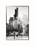 The Dramatic Midtown Manhattan Skyline along West 59th Street Photographic Print by Philippe Hugonnard