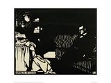 Apprêts de Visite Giclee Print by Félix Vallotton