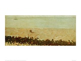 Villerville Beach Giclee Print by Félix Vallotton