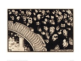 The Patriotic Ditty Giclee Print by Félix Vallotton