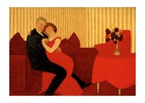 The Lie, 1898 Giclee Print by Félix Vallotton
