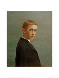 Self-Portrait at the Age of Twenty Giclee Print by Félix Vallotton