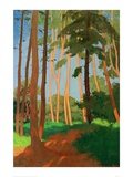 The Forest Clearing Giclee Print by Félix Vallotton