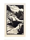 The Mont Blanc Giclée-Druck von Félix Vallotton