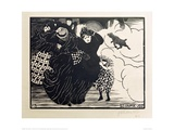 The Gust of Wind Giclee Print by Félix Vallotton