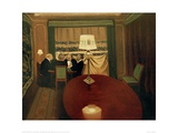The Poker Game Giclee Print by Félix Vallotton