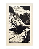 The Mont Blanc Giclee Print by Félix Vallotton