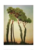 Last Sun Rays Giclee Print by Félix Vallotton
