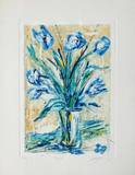 Tulipe bleue Limited Edition by Jean-marie Guiny