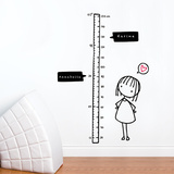 Watch Me Grow! (girl) Wall Decal Wall Decal