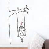 Swinging Wall Decal Vinilo decorativo