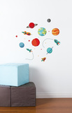 Planets Galore Wall Decal Wall Decal